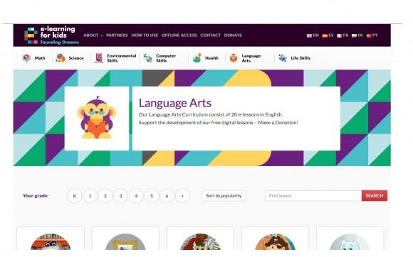 Imagen propiedad de E-Learning for Kids.