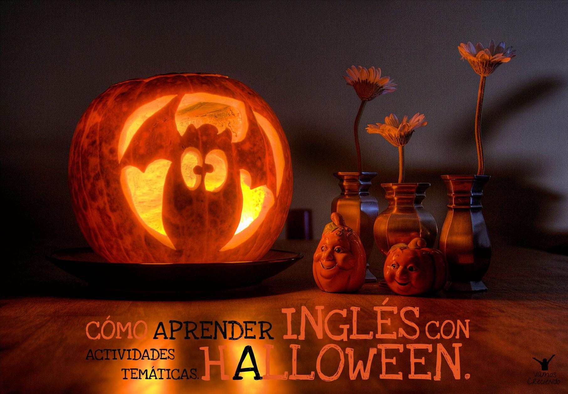 Halloween Kurbis Auf Englisch.Wie Man Englisch Mit Thematischen Aktivitaten Lernen Halloween Lassen Creciendovamos Wachsende