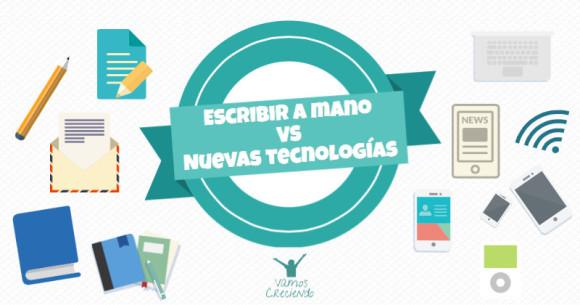 Portada_Escribir a mano vs nuevas tecnologias_Vamos Creciendo