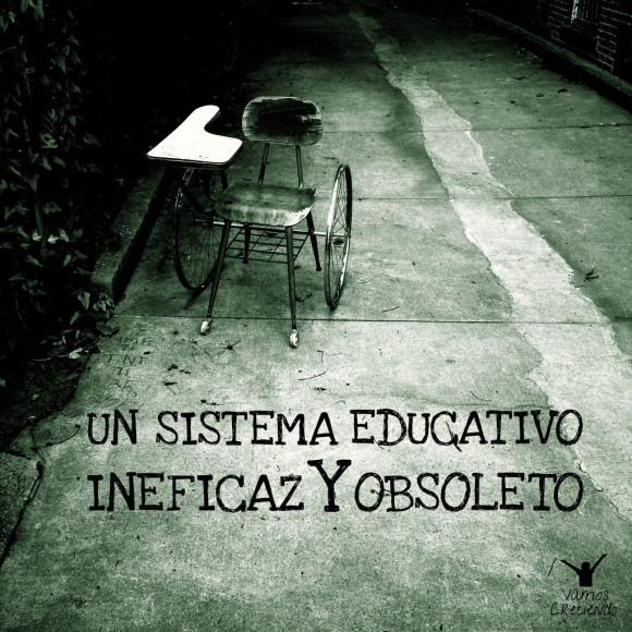Un sistema educativo ineficaz y obsoleto