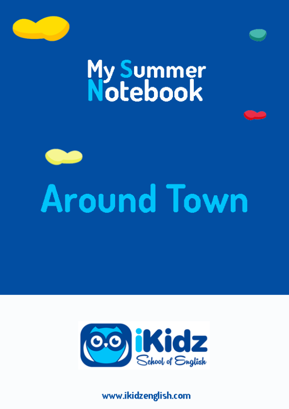 My summer Notebook portada_Around town