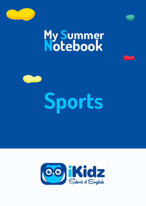 My summer Notebook portada_Sports